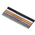 6pcs Artificial Nail Art Manicure French Tips Tool C Curve Rod Sticks
