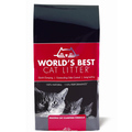 World`s Best - Katzenstreu - Cat Litter Multiple Cat Clumping Formula rot 3,18 kg