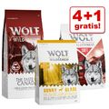 "4 + 1 gratis! 5 x 1 kg Wolf of Wilderness Trockenfutter Mix - ""The Taste Of""-Mix: Canada (2x), Scandinavia (2x), Mediterranean"